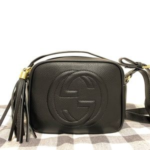Gucci soho disco crossbody black